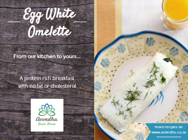 Avondhu Breakfasts Egg White Omelettes