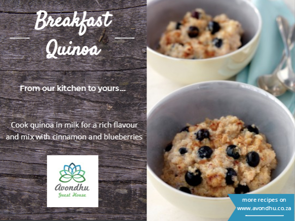 Avondhu Breakfasts Quinoa